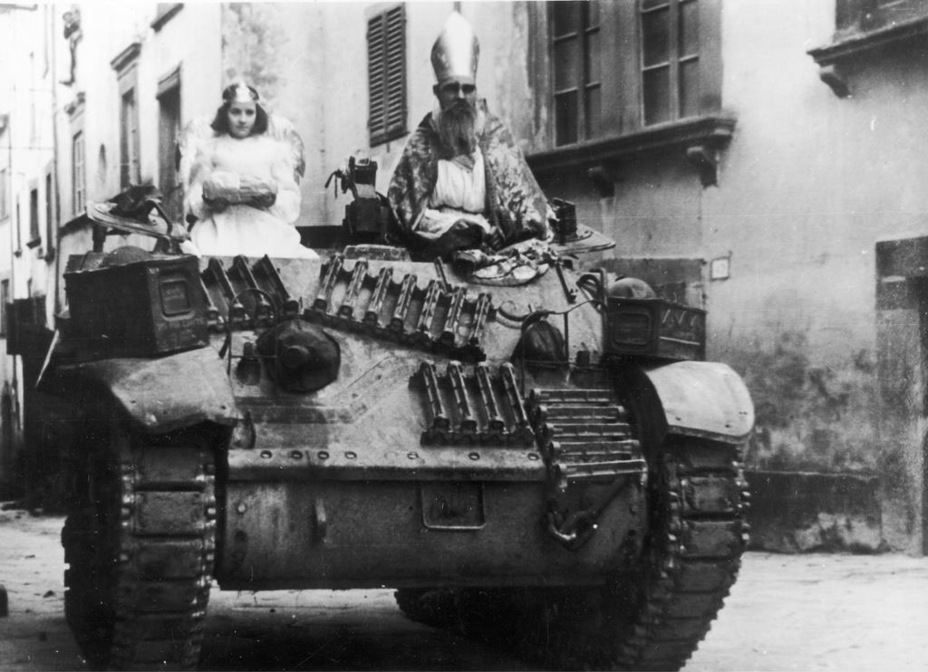 ​Stuart V Recce from the 2nd Warsaw Armoured Brigade, Italy, Christmas 1943 - Light Tank M3A3: American Emigrant | Warspot.net