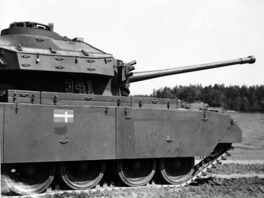 ​Swedish flags and Swedish turret numbers were the only differences between the Centurion Mk.3 and Strv 81 at first - Adventures of the Centurion in Scandinavia | Warspot.net