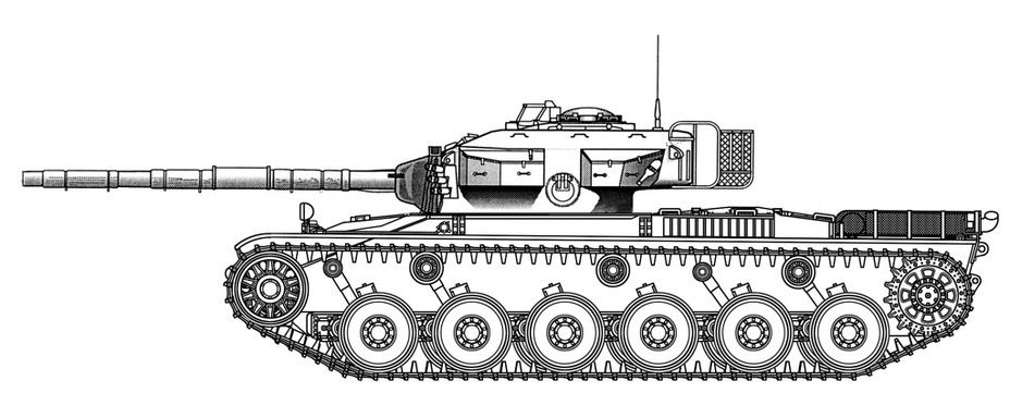 ​The Strv K, a hybrid of the KRV and Centurion Mk.10, could look like this. In the end, the Swedish military decided to not risk it - Adventures of the Centurion in Scandinavia | Warspot.net