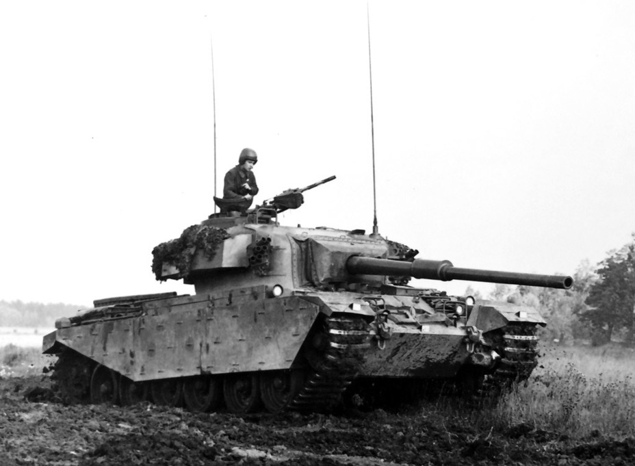 ​Strv 101 during exercises, 1970. As you can see, the lights changed - Adventures of the Centurion in Scandinavia | Warspot.net