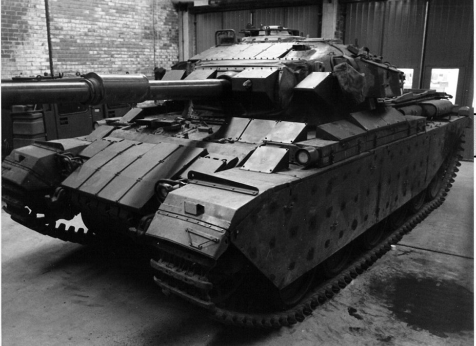 ​Strv 102R, the first Swedish tank with reactive armour - Adventures of the Centurion in Scandinavia | Warspot.net