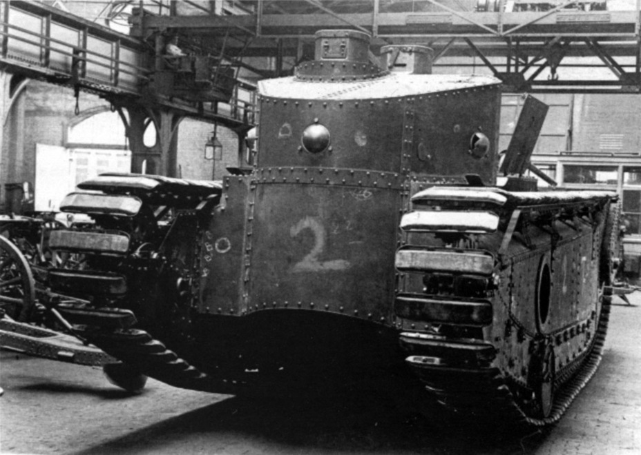​Medium Tank Mk.D Modified, Johnson's final tank. Note the cupola behind the casemate: this is where the driver sat - Medium Tank T1E1: Britain's Heir | Warspot.net