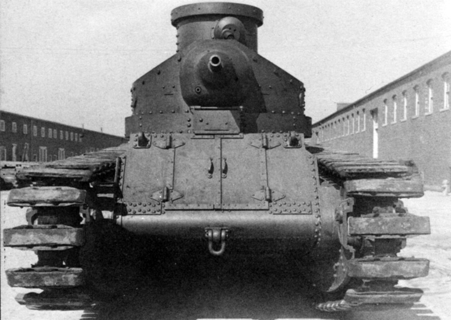 ​Medium Tank M1922 with a Medium Tank Mk.D type suspension - Medium Tank T1E1: Britain's Heir | Warspot.net