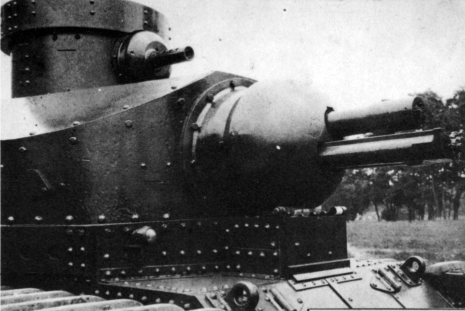 ​75 mm M1920 howitzer in a Medium Tank T1 turret - Medium Tank T1E1: Britain's Heir | Warspot.net