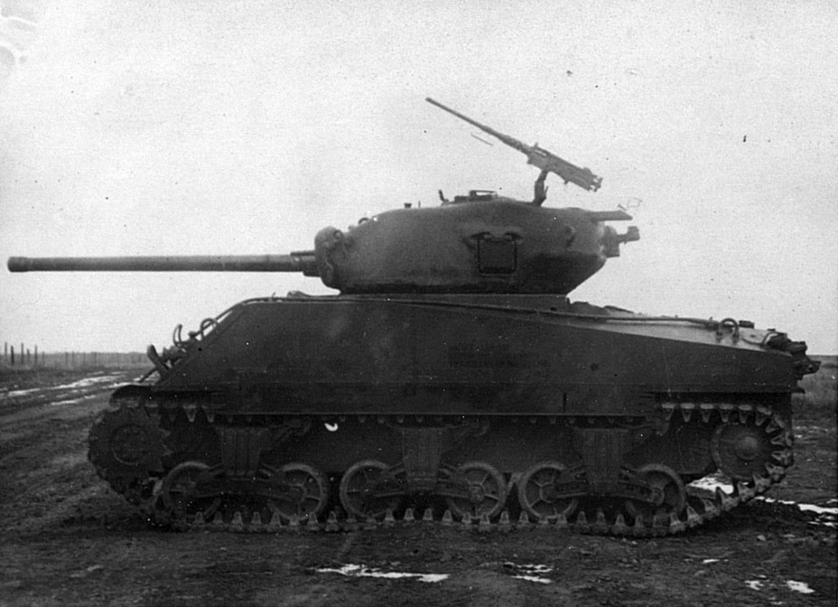 ​Overall view of the M4A2(76)W, Kubinka, November of 1944 - M4A2(76)W: Emcha With a Long Hand | Warspot.net