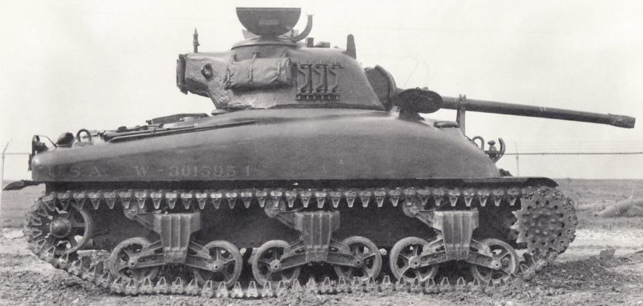 ​M4A1(76 M1) on trials at Fort Knox. February 1943 - The Longest Millimeter | Warspot.net