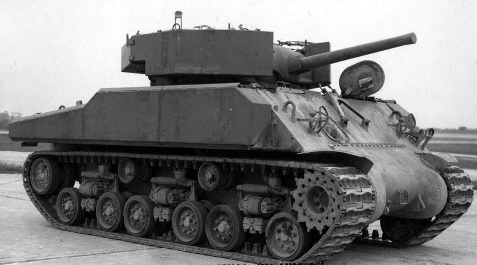 ​A Sherman tank with composite armour blocks installed - The Tank's Hidden Foe | Warspot.net