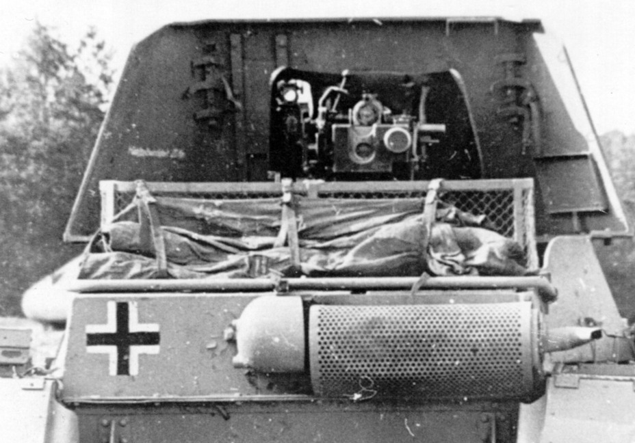 ​The fighting compartment of the Panzerjäger I. It's hard to call it roomy, but considering what the designers had to work with, it is acceptable - Small, But Fierce | Warspot.net