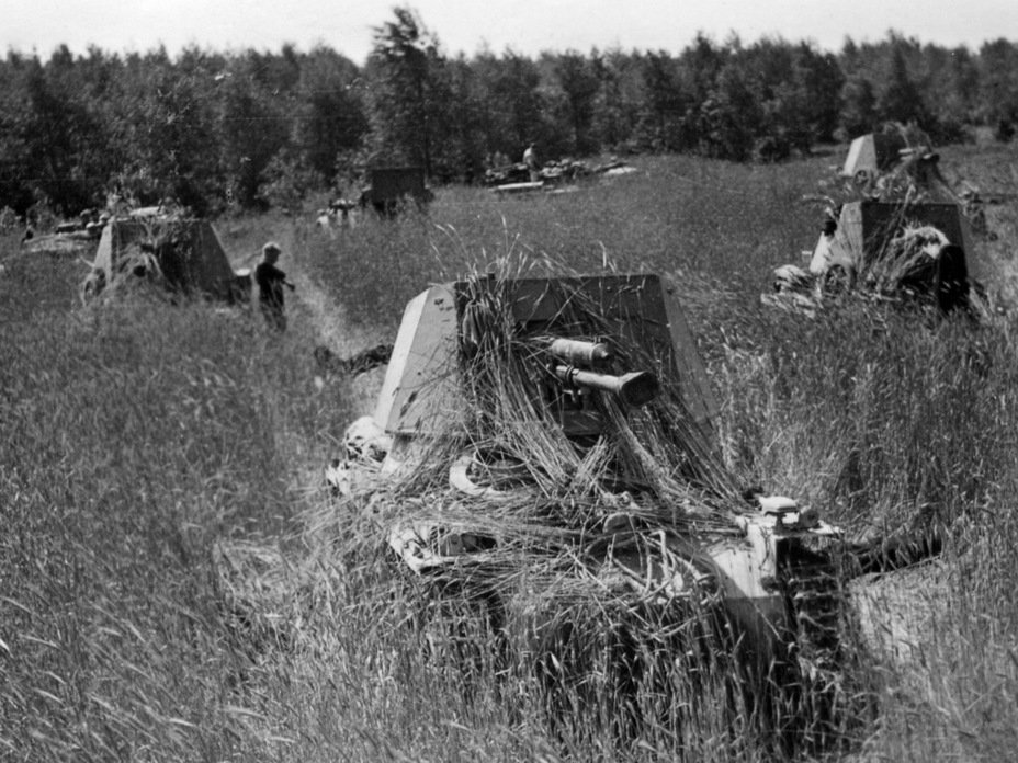 ​Tank destroyers in ambush. The low silhouette was remarked on by commanders of battalions which used the Panzerjager I - Small, But Fierce | Warspot.net
