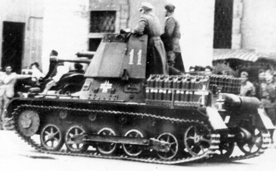 ​Panzerjager I from the second production batch, 605th Tank Destroyer Battalion. Vehicle #32 from this unit survives to this day - Small, But Fierce | Warspot.net