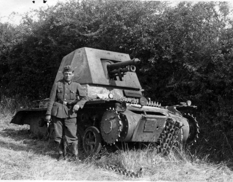 ​This SPG was lost in 1941. Judging by the patch in the front armour, this was not the first time it was knocked out - Small, But Fierce | Warspot.net