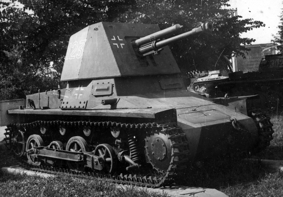 ​Captured Panzerager I from the first production series in Moscow, summer of 1943 - Small, But Fierce | Warspot.net