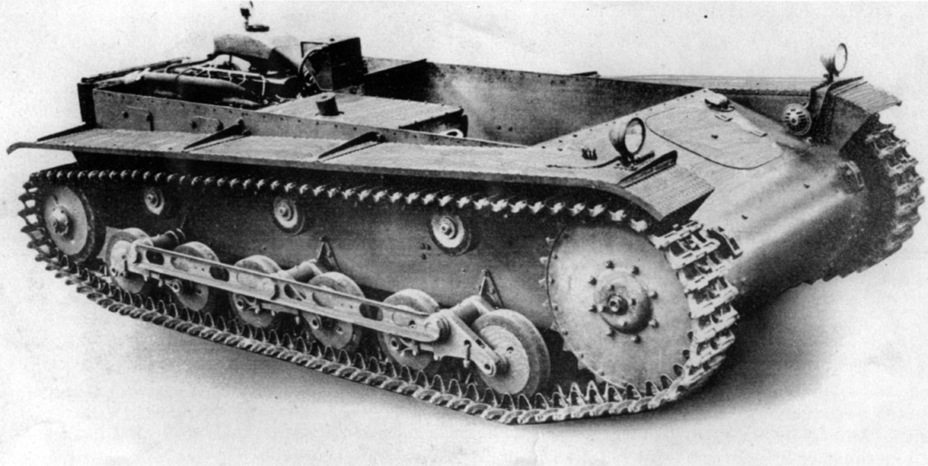 ​MAN's first experimental La.S.100 - Pz.Kpfw.II Ausf.a through b: An Unplanned Tank | Warspot.net