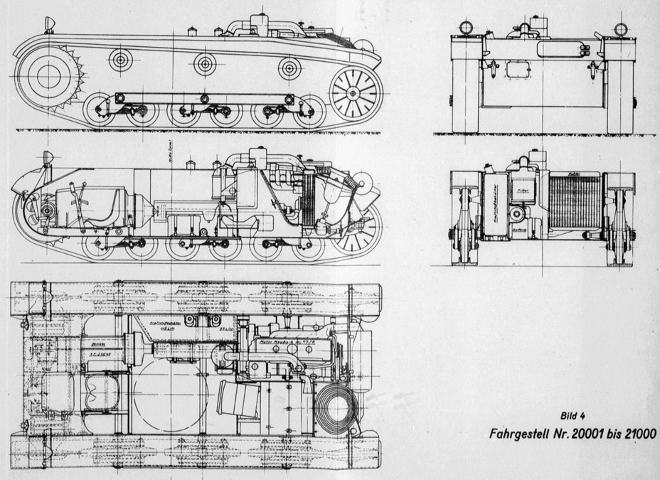 ​Diagram of the PzII Ausf. a. You can see how densely the tank is packed, but there was still room for three men - Pz.Kpfw.II Ausf.a through b: An Unplanned Tank | Warspot.net