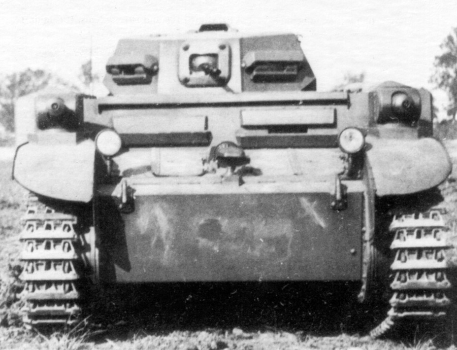 ​One of the first PzII (F) - Pz.Kpfw.II Ausf. D-E: Unlucky Torsion Bars | Warspot.net