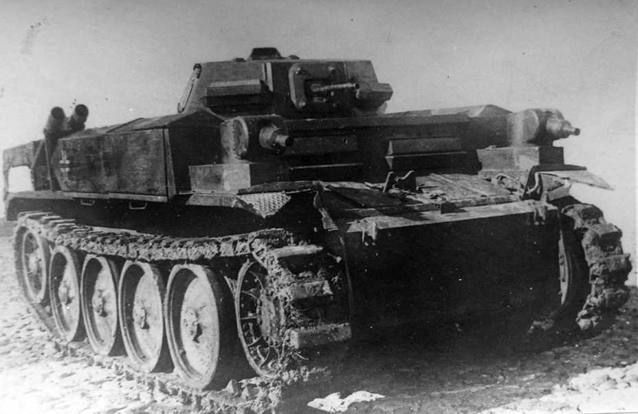 ​Captured PzII (F) on the PzII Ausf. E chassis at Kubinka, September 1941 - Pz.Kpfw.II Ausf. D-E: Unlucky Torsion Bars | Warspot.net