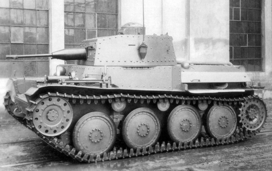 ​Experimental prototype of the Praga LTL at CKD, May 1938 - Praga LTL and Pzw 39: Tanks for Neutrals | Warspot.net