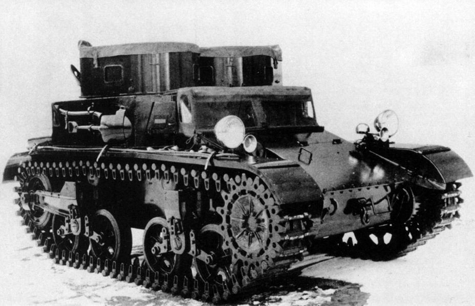 ​Prototype of the Combat Car T5, April of 1934 - Combat Car M1: Armour for American Cavalry | Warspot.net