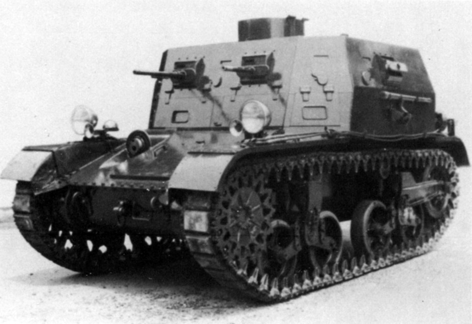 ​Combat Car T5E1, July of 1935 - Combat Car M1: Armour for American Cavalry | Warspot.net