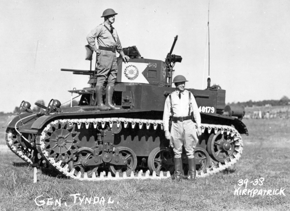 ​Robert Tyndal used a late production Combat Car M1 from the 13th Cavalry Regiment as his commander's tank, 1939 - Combat Car M1: Armour for American Cavalry | Warspot.net