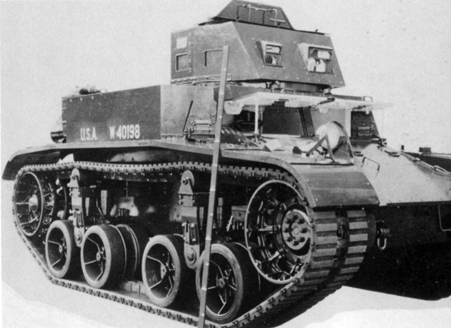 ​Combat Car M1E3 with rubber-metallic tracks and converted running gear - Combat Car M1: Armour for American Cavalry | Warspot.net