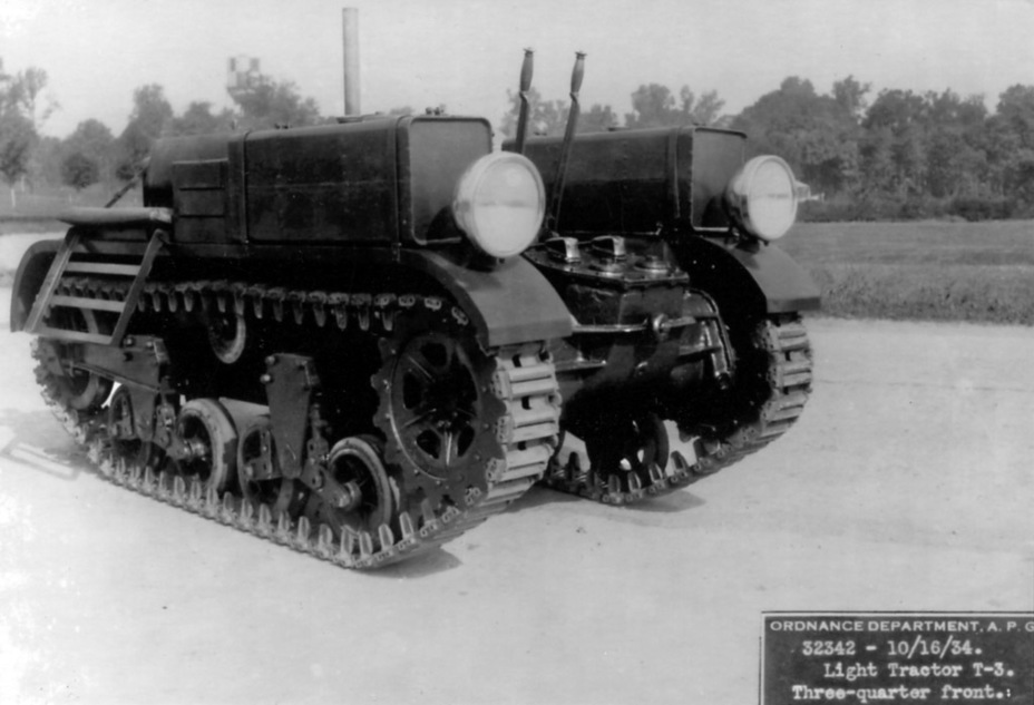 ​T3 Tracked Light Tractor - Combat Car M1: Armour for American Cavalry | Warspot.net
