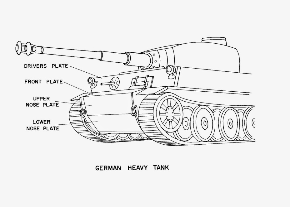 "​""German heavy tank"", Tactical and Technical Trends #20, March 11th, 1943 - Tiger Killers 
