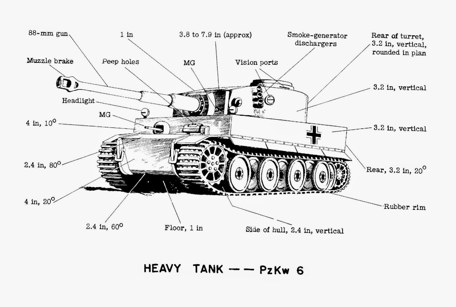 ​More precise information became available quickly. Most importantly, the Allies knew the thickness of this new tank's armour - Tiger Killers | Warspot.net