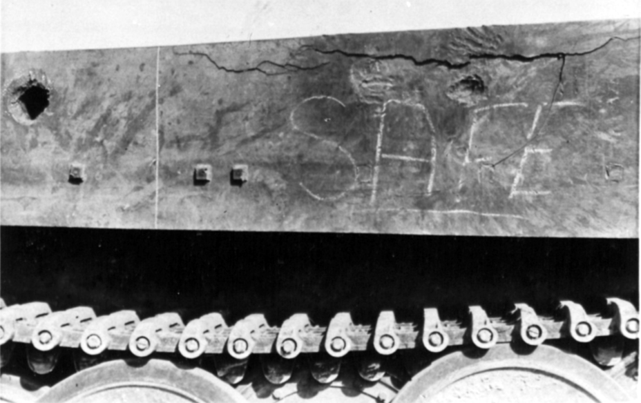​The side armour of the tank was prone to cracking and spalling when hit - Tiger Killers | Warspot.net
