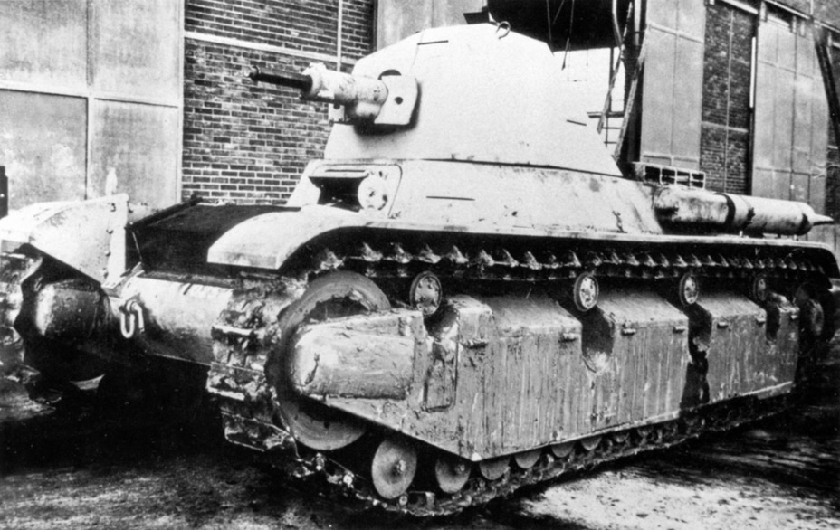 ​AMX 38 prototype, Satori, 1939 - AMX 38: A Tank Between Classes | Warspot.net