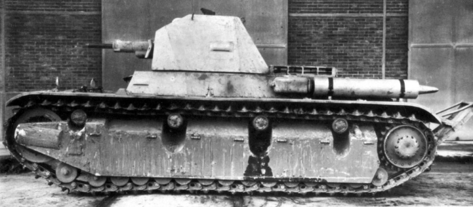 ​The AMX 38 was the longest of the French interbellum tanks - AMX 38: A Tank Between Classes | Warspot.net