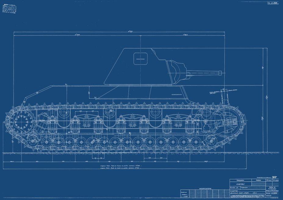 ​The mass produced AMX 38 would have looked like this - AMX 38: A Tank Between Classes | Warspot.net