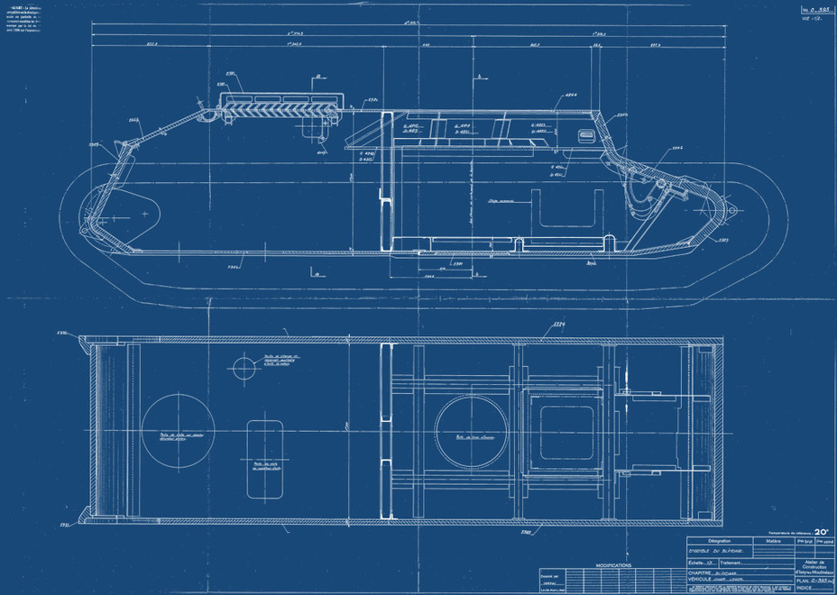 ​Diagram of the new AMX 38's hull - AMX 38: A Tank Between Classes | Warspot.net