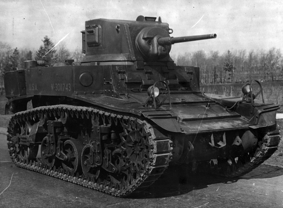 ​Tank with serial number U.S.A. W-3011743 during testing at Kubinka. The tank can currently be seen on display at Patriot Park - M3A1: Light Tank with a Hard Fate | Warspot.net