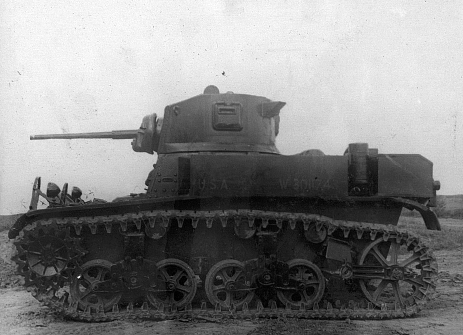 ​Same tank from the left - M3A1: Light Tank with a Hard Fate | Warspot.net