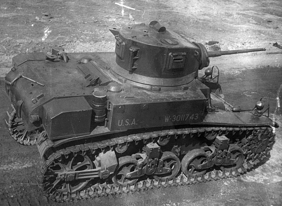 ​Despite several welded connections, the tank continued to widely use rivets - M3A1: Light Tank with a Hard Fate | Warspot.net