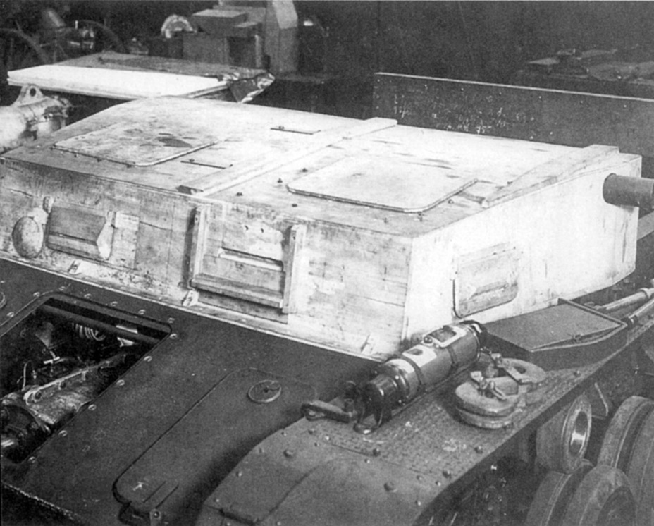 ​A model of the new turret platform tested on the B.W. II Kp - Pz.Kpfw.IV Ausf. A through C | Warspot.net