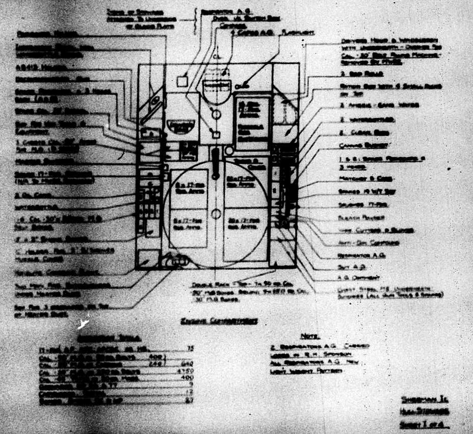 ​Ammunition storage in the Sherman Ic. As the diagram shows, most of it was stored underneath the turret basket floor - Modernization in the British Style | Warspot.net
