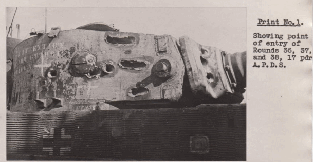 ​17-pounder APDS could penetrate the armour of German tanks even at an extreme angle, but a hit had to be scored first - Modernization in the British Style | Warspot.net