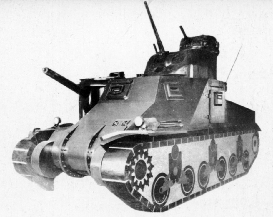 ​Final variant of the model, approved by the start of 1941 - Medium Tank M3 | Warspot.net