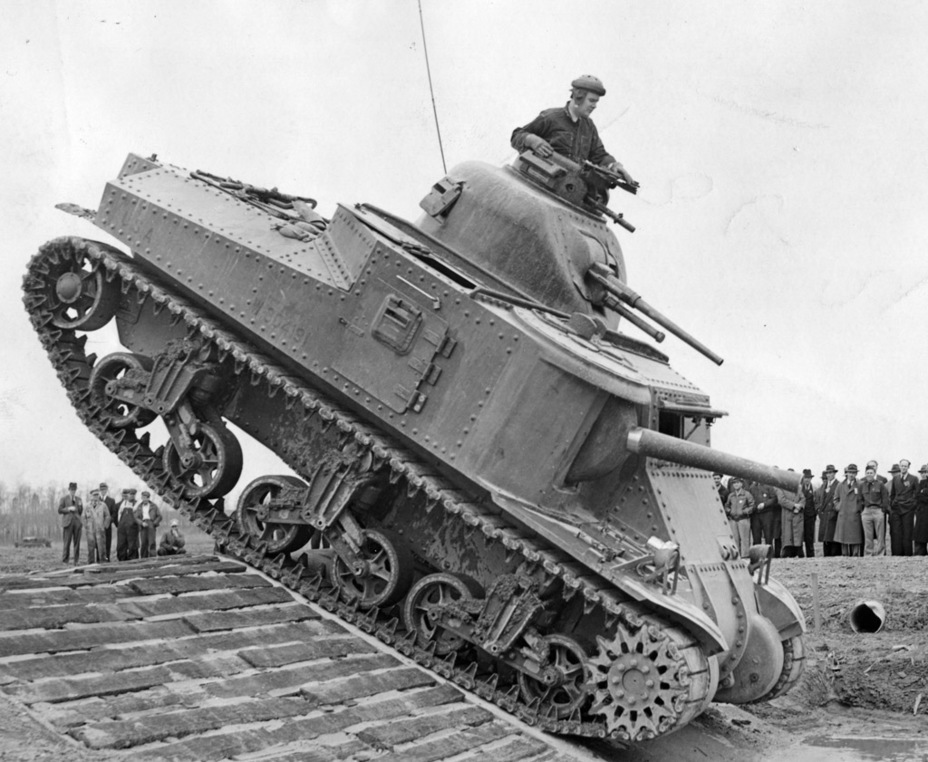 ​The same tank, demonstrated to the Ordnance Department - Medium Tank M3 | Warspot.net