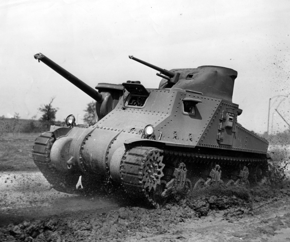 ​One of the first Medium Tanks M3 equipped with the 75 mm gun M3 - Medium Tank M3 | Warspot.net