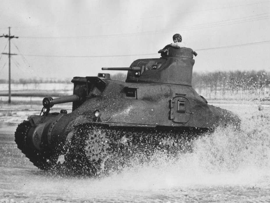 ​Medium Tank M3A1, with a noticeably different hull - Medium Tank M3 | Warspot.net