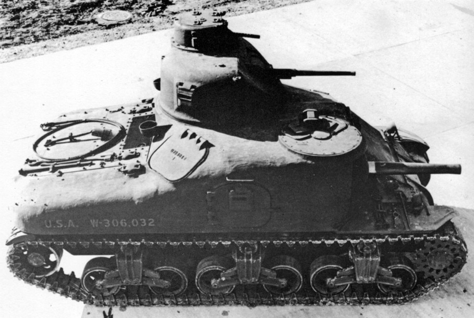 ​The cast upper hull allowed for better use of the fighting compartment volume, but increased mass - Medium Tank M3 | Warspot.net