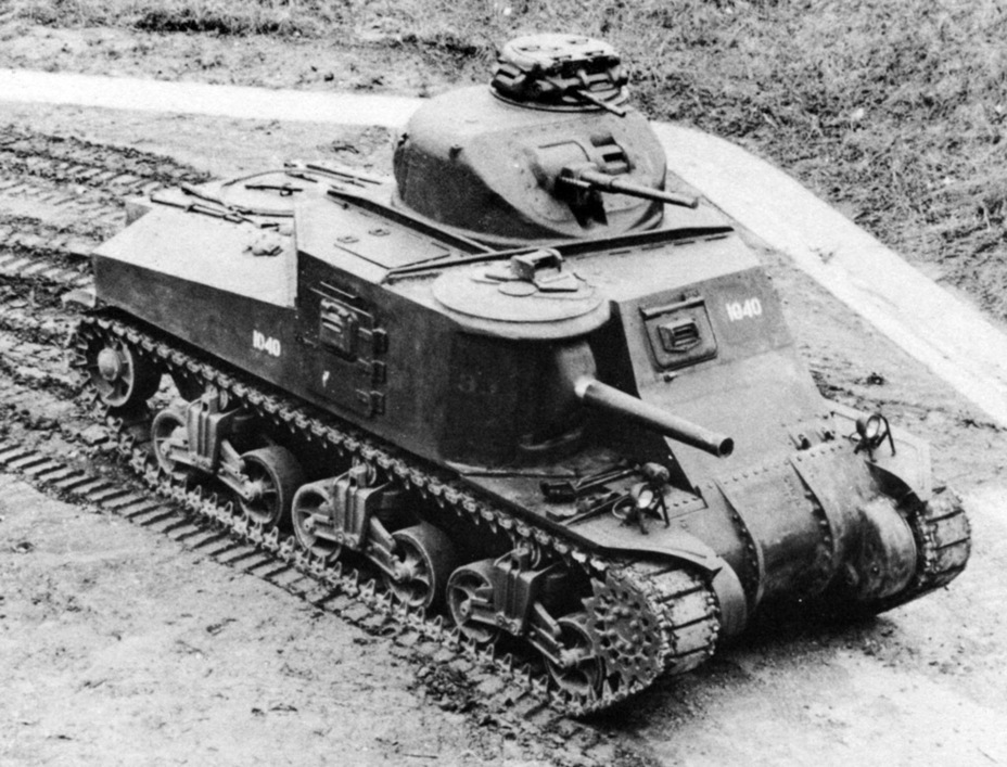 ​Medium Tank M3A2, with a welded hull - Medium Tank M3 | Warspot.net