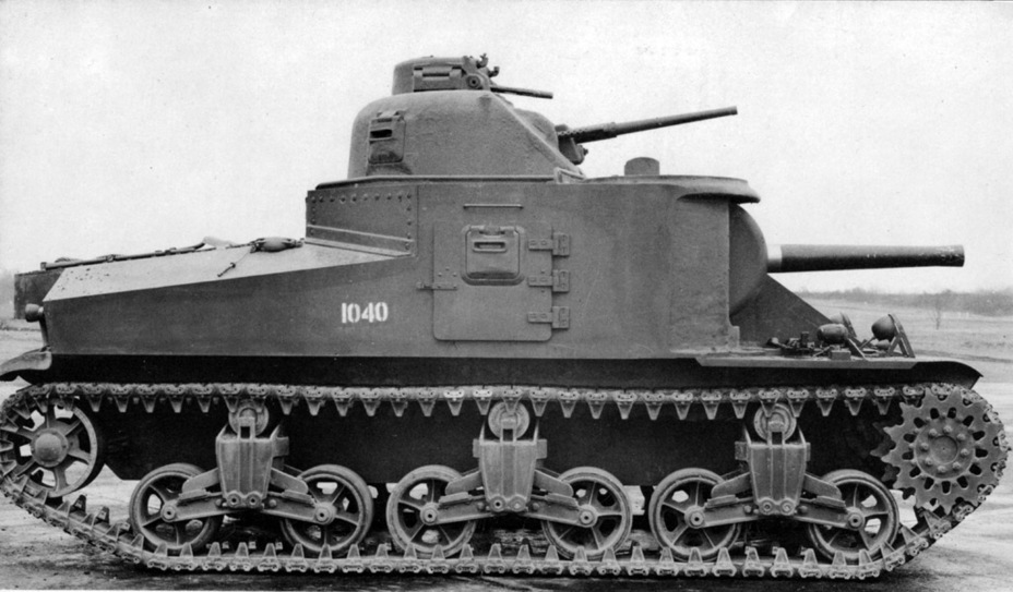 ​The M3A2 series was very small: only 12 tanks - Medium Tank M3 | Warspot.net