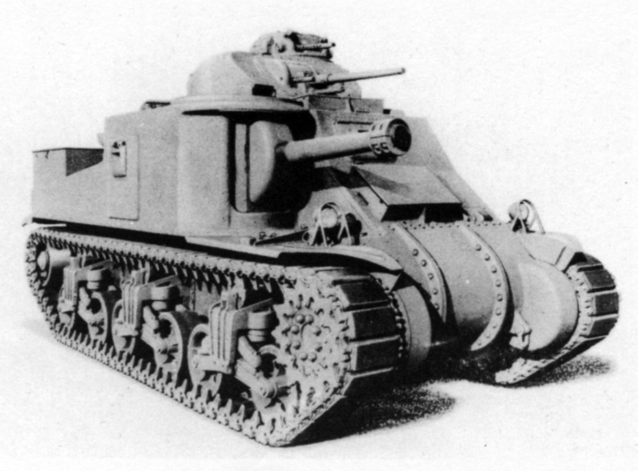 ​The Medium Tank M3A3 had a welded hull, unlike the M3A5 - Medium Tank M3 | Warspot.net
