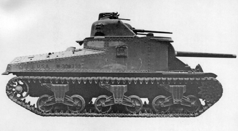 ​Production Medium Tank M3A4 - Medium Tank M3 | Warspot.net