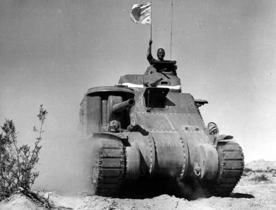 ​Preparation for fighting in the desert, summer 1942 - Medium Tank M3 | Warspot.net