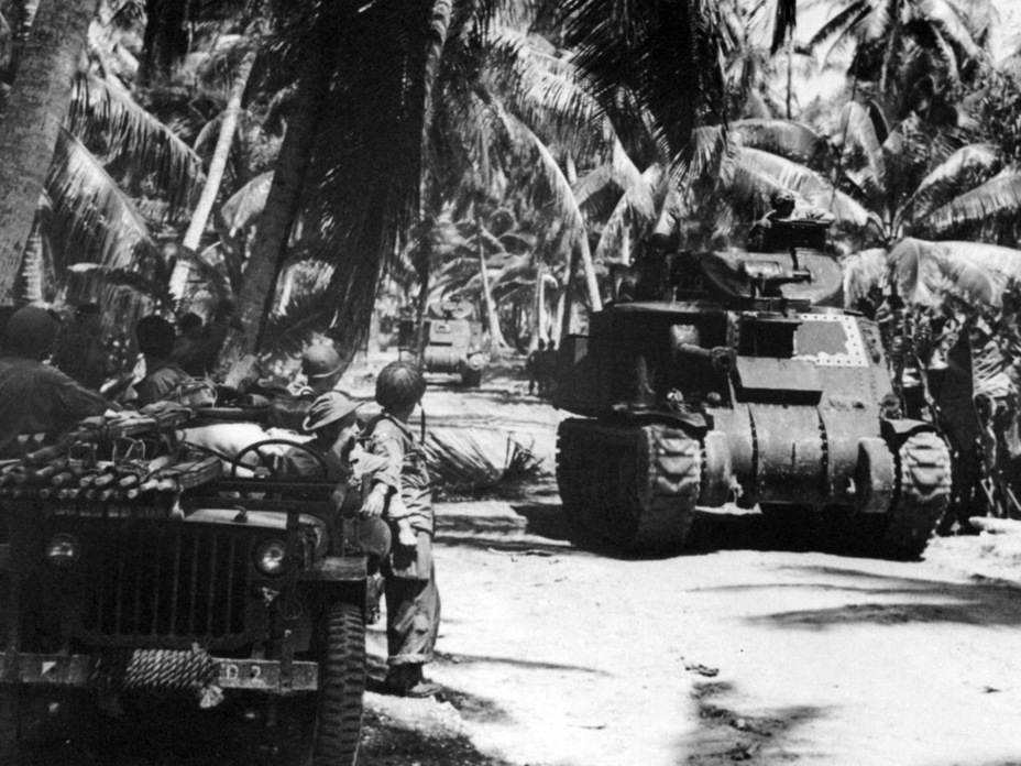 ​The 193rd Tank Battalion was one of the few units that used the M3 in the Pacific - Medium Tank M3 | Warspot.net